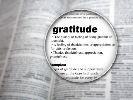 Why You Should Be Grateful