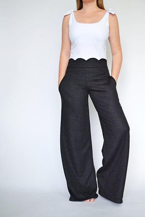 Aria Lounge Pant - Black Speckle