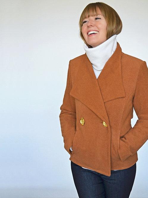Celeste Coat - Rust