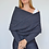Thumbnail: The Marlowe Wrap Sweater - Navy