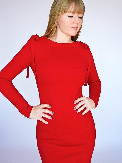 Clara Dress - Red
