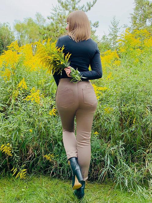 Jessica Pant - Taupe