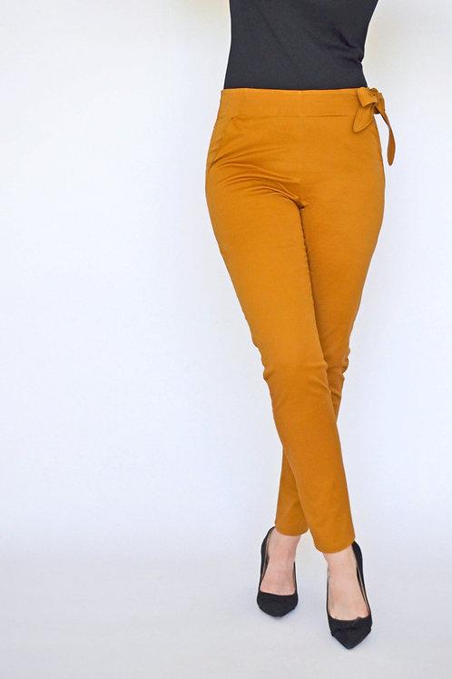 Olivia Pant - Ochre Gold