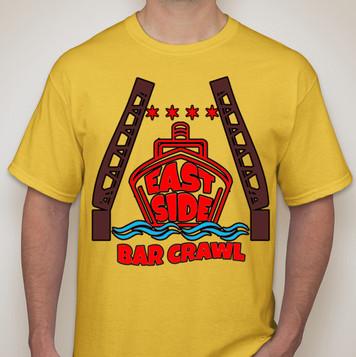 Bar Crawl T Shirt Design