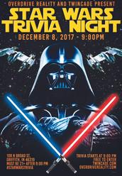 Star Wars Trivia Flyer
