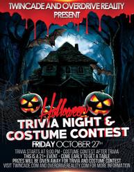 Trivia Halloween Flyer