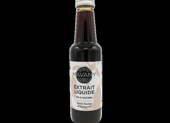 Extrait 100% naturel de vanille bourbon - 250 ml