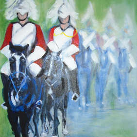 'Guards on Parade', Sharon Pearce