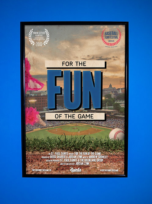 For The Fun Of The Game Movie Poster