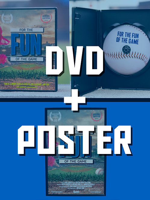 For The Fun Of The Game DVD + Poster Bundle