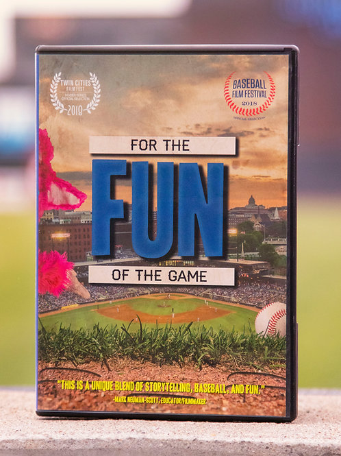 For The Fun Of The Game DVD
