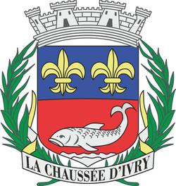 blason La Chaussée d'Ivry RVB