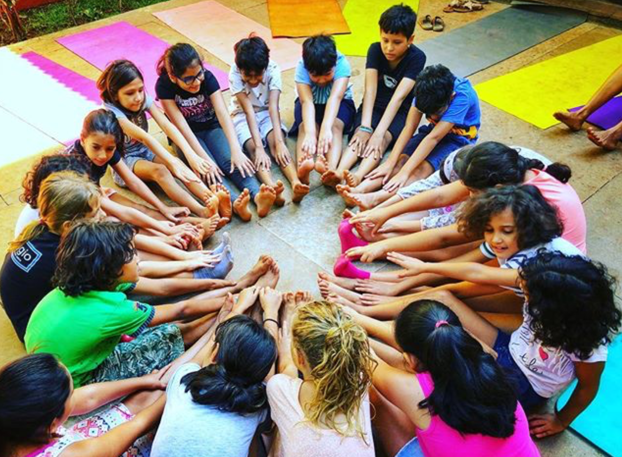 Kids Yoga and Nature Camp