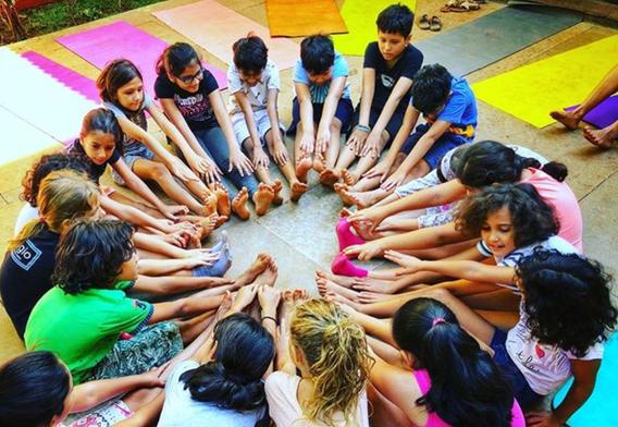 Kids Yoga and Nature Camp