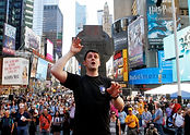 Andrew Russel New York Times Square