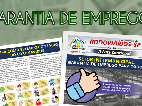 SETOR INTERMUNICIPAL: Garantia de Emprego para Todos
