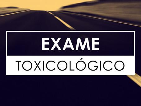 Faça seu EXAME TOXICOLÓGICO