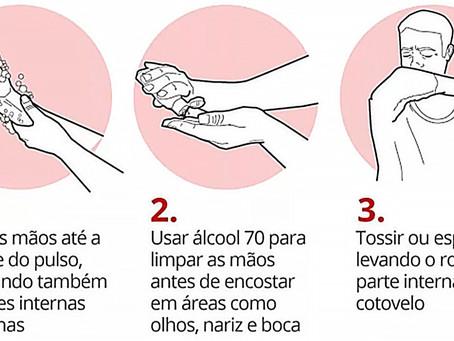 Confira 12 métodos para se prevenir do coronavírus