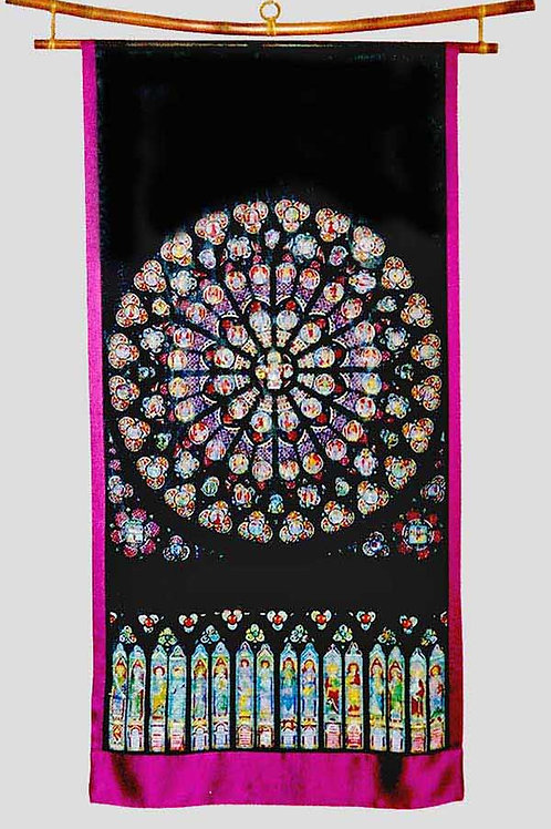 Southern Rose Window Silk