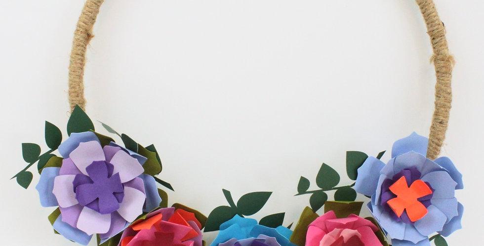 Floral-Pop Wreath