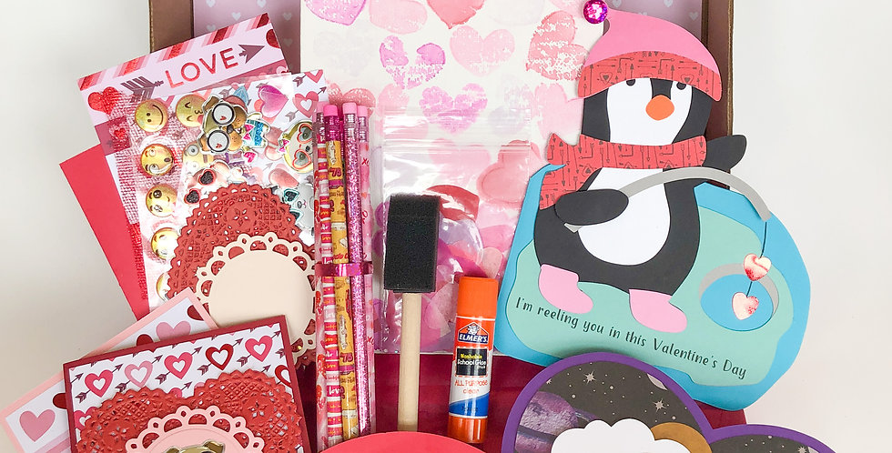 Valentine's Day Kids Craft Box