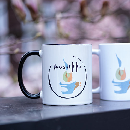 Ceramic Mug (coffee music whiskey)