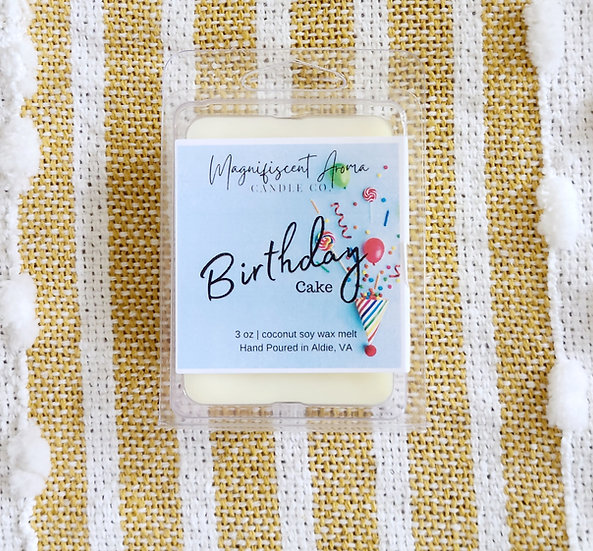 Birthday Cake Wax Melt