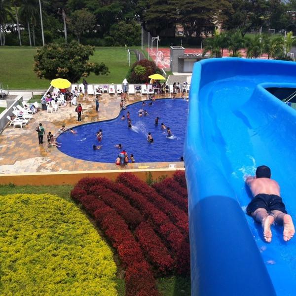 Waterpark at Club Guadalajara de Buga Confenalco