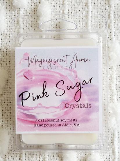 Pink Sugar Crystals Wax Melt