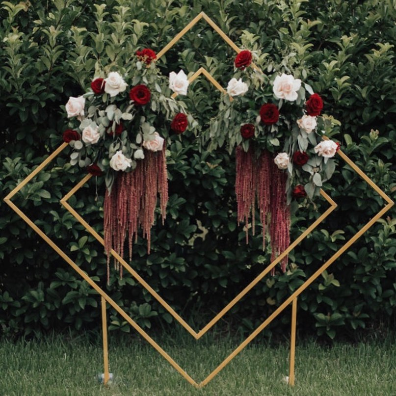 Double Diamond Arbor