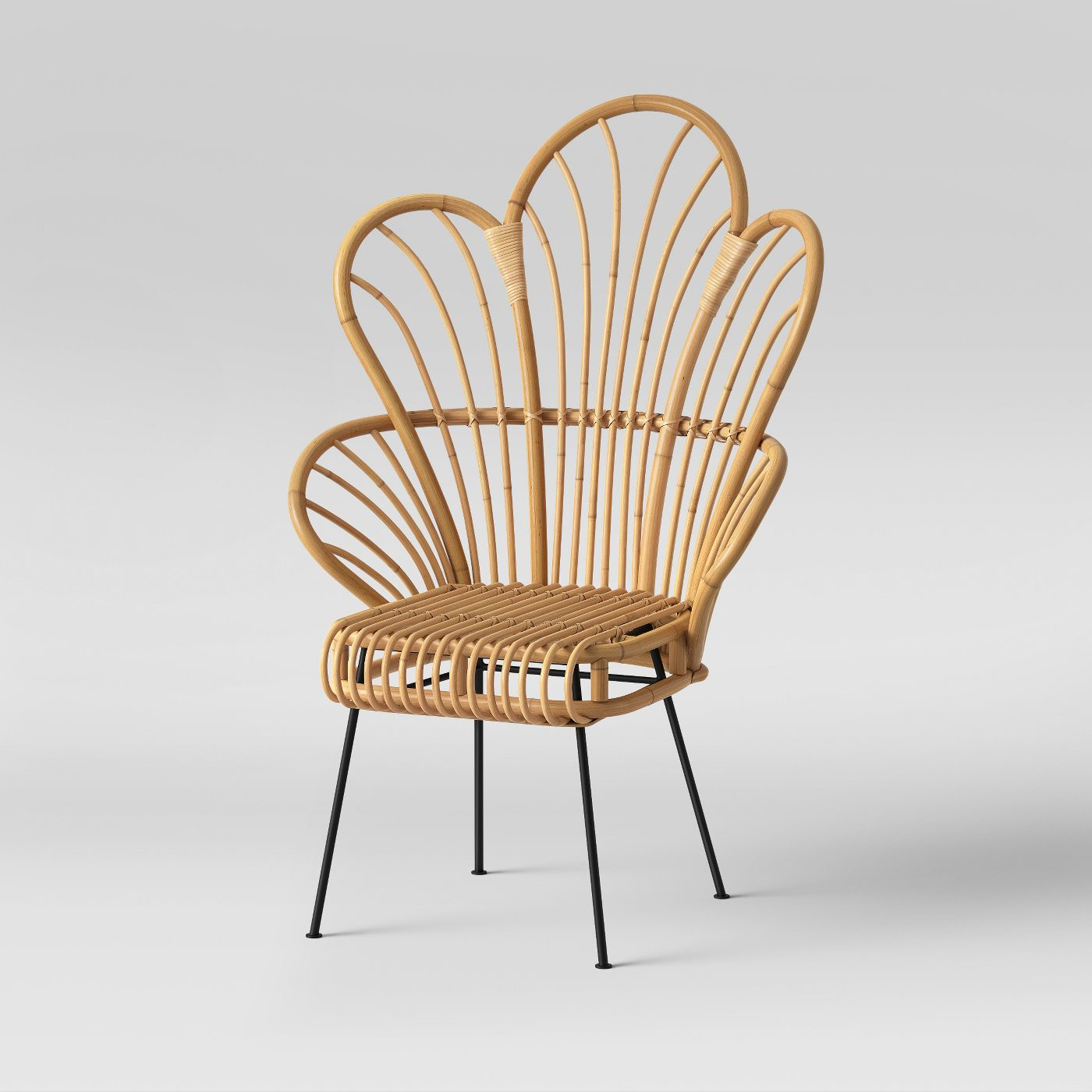 Modern Bamboo Peacock Chair