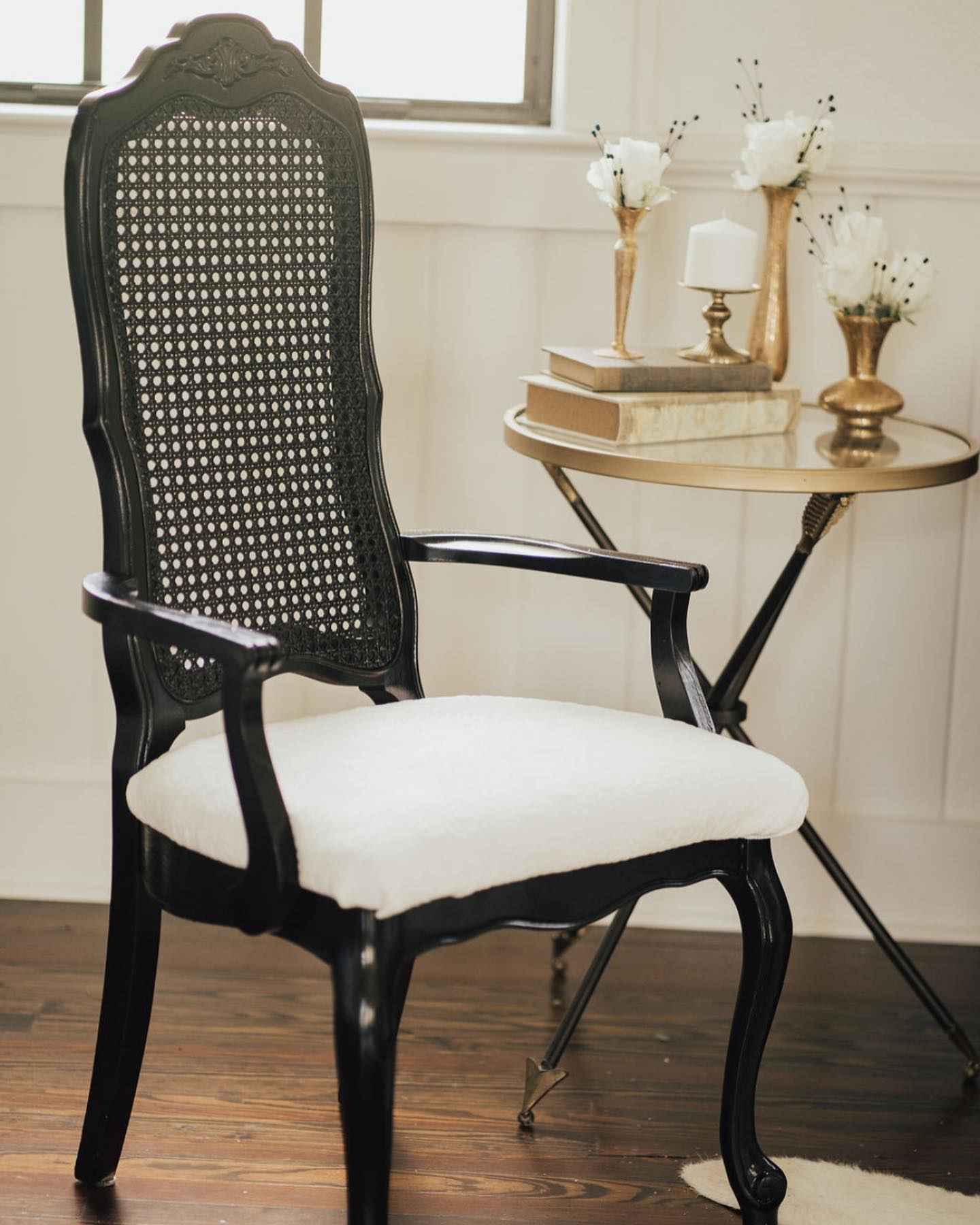 Black & White Vintage Chairs