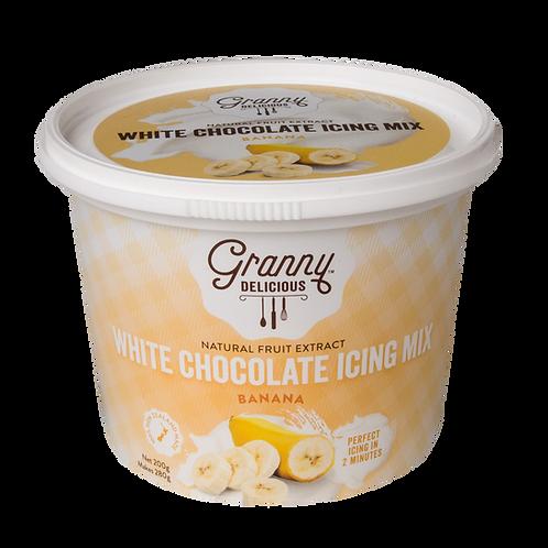 Banana White Chocolate Fudge Icing Mix
