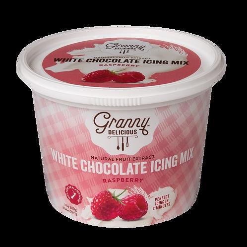 Raspberry White Chocolate Fudge Icing Mix