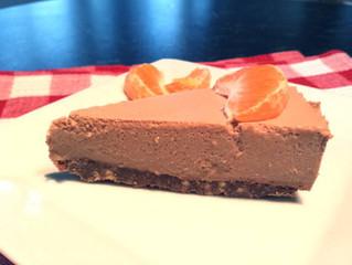 Chocolate Orange Cointreau Cheese Cake