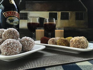 Baileys Irish Cream Fudge Balls