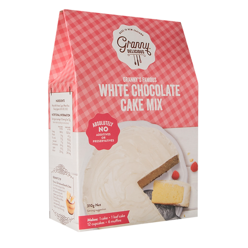 Granny's Famous White Chocolate Fudge Cake Mix