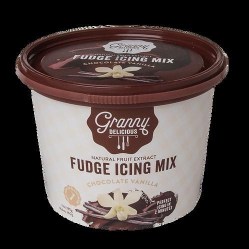 Vanilla Chocolate Fudge Icing Mix
