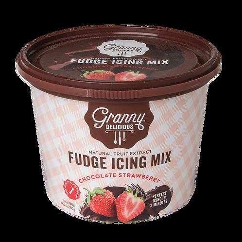 Strawberry Chocolate Fudge Icing Mix