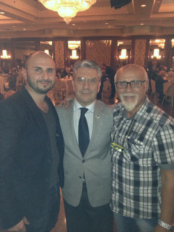 Salvatore, Zeo and Cav Tony DI Piazza