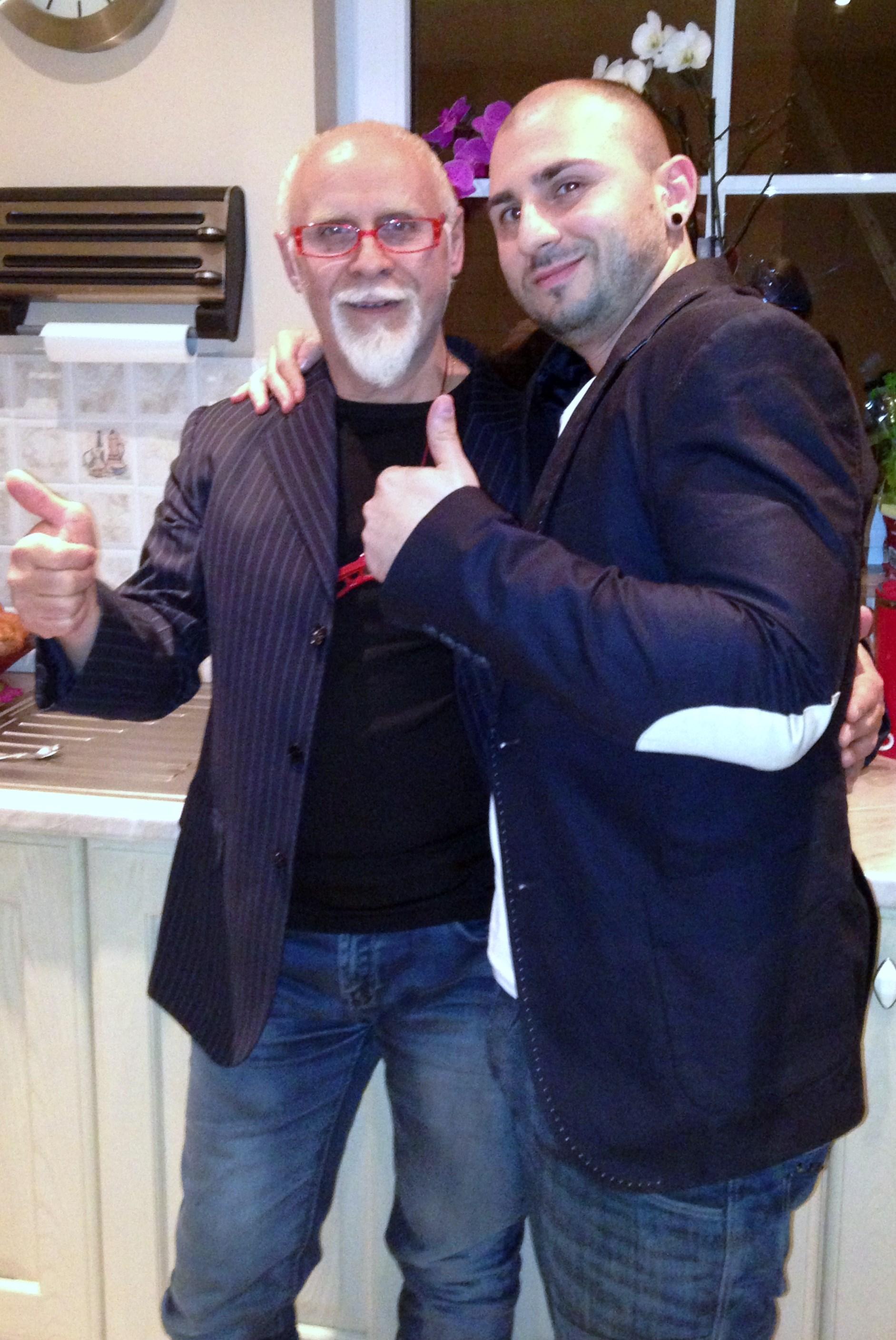 with Zeo Vincenzo Tuzze