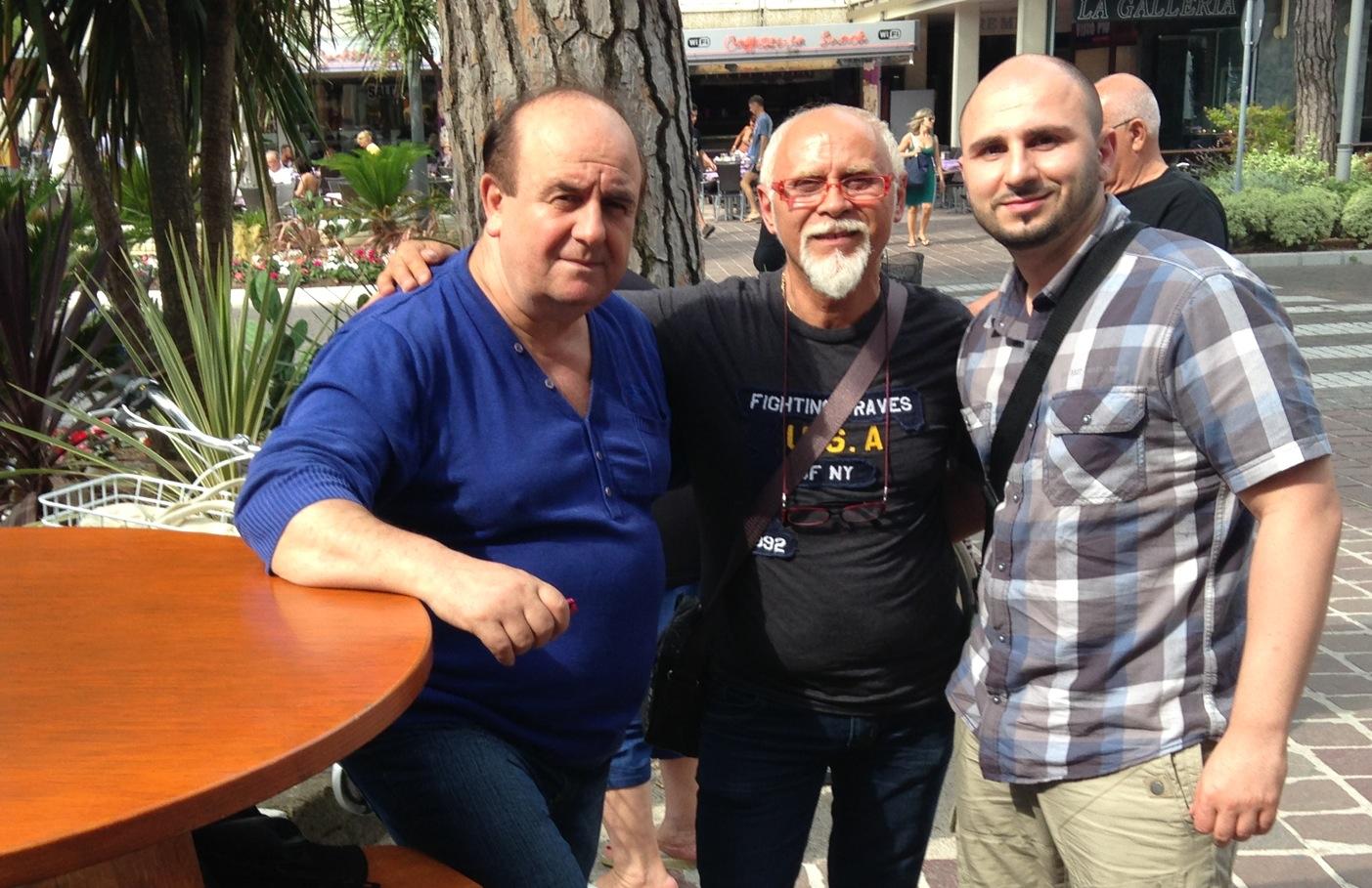 Salvatore, Zeo and Gino Perruccio