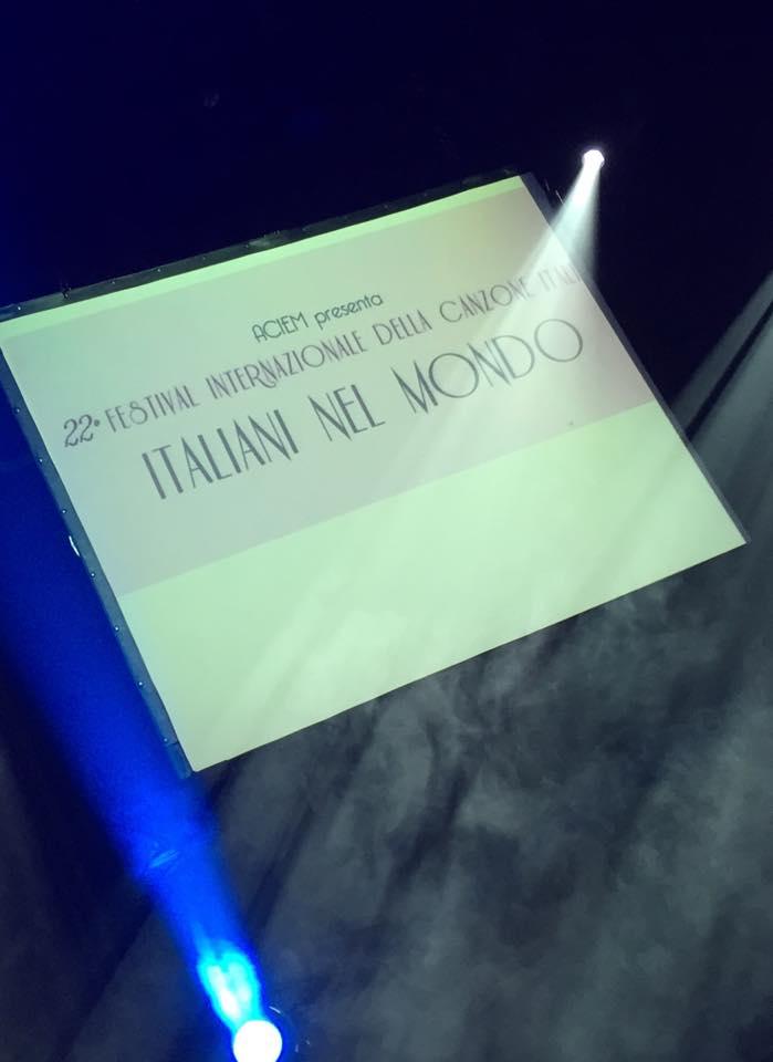 22nd Festival Internazionale Della Canzone Italiana Di Brusselles 2014