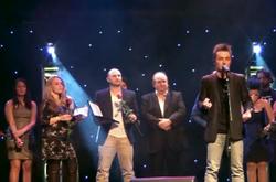 Recieving award 2013