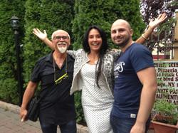 Salvatore, Zeo and Francesca Alderisi