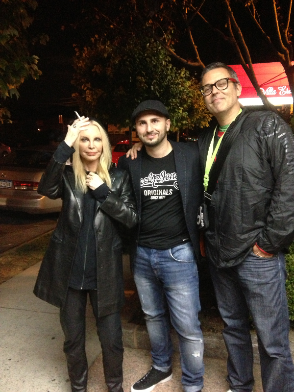 Salvatore, Patty Pravo and Frankie Hi Nrg