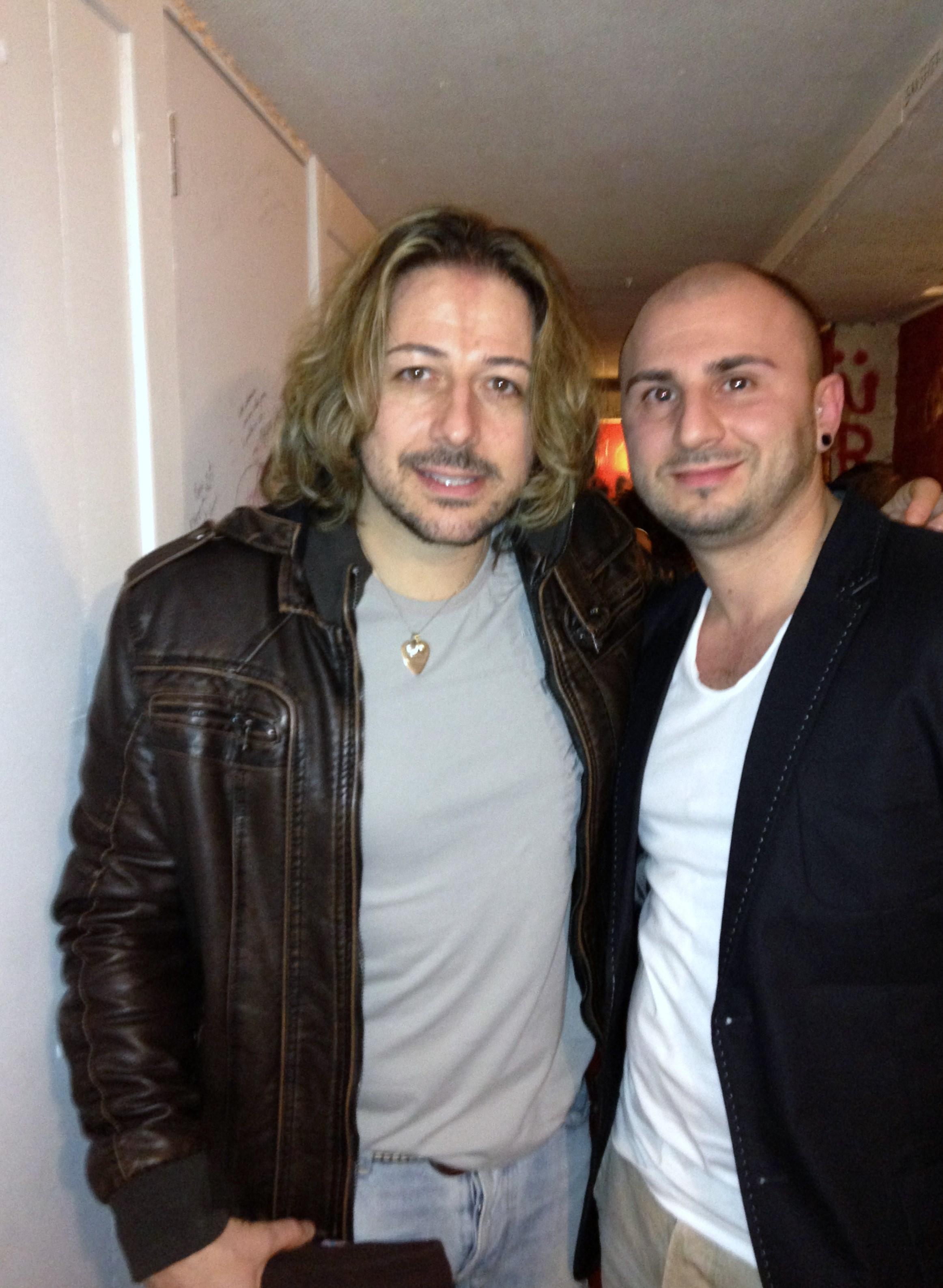 with Simone Tomassini