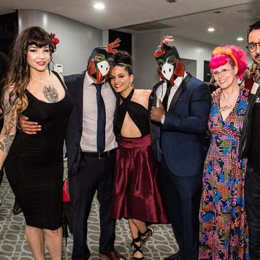Athena, The Crazy Chickens, Veronica Yune, Kim Mahna Mahna, and Javier Robles