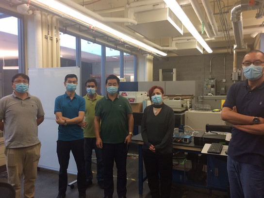 Visit of medical device companies from Motamed Lab