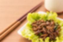 Salade d'insectes